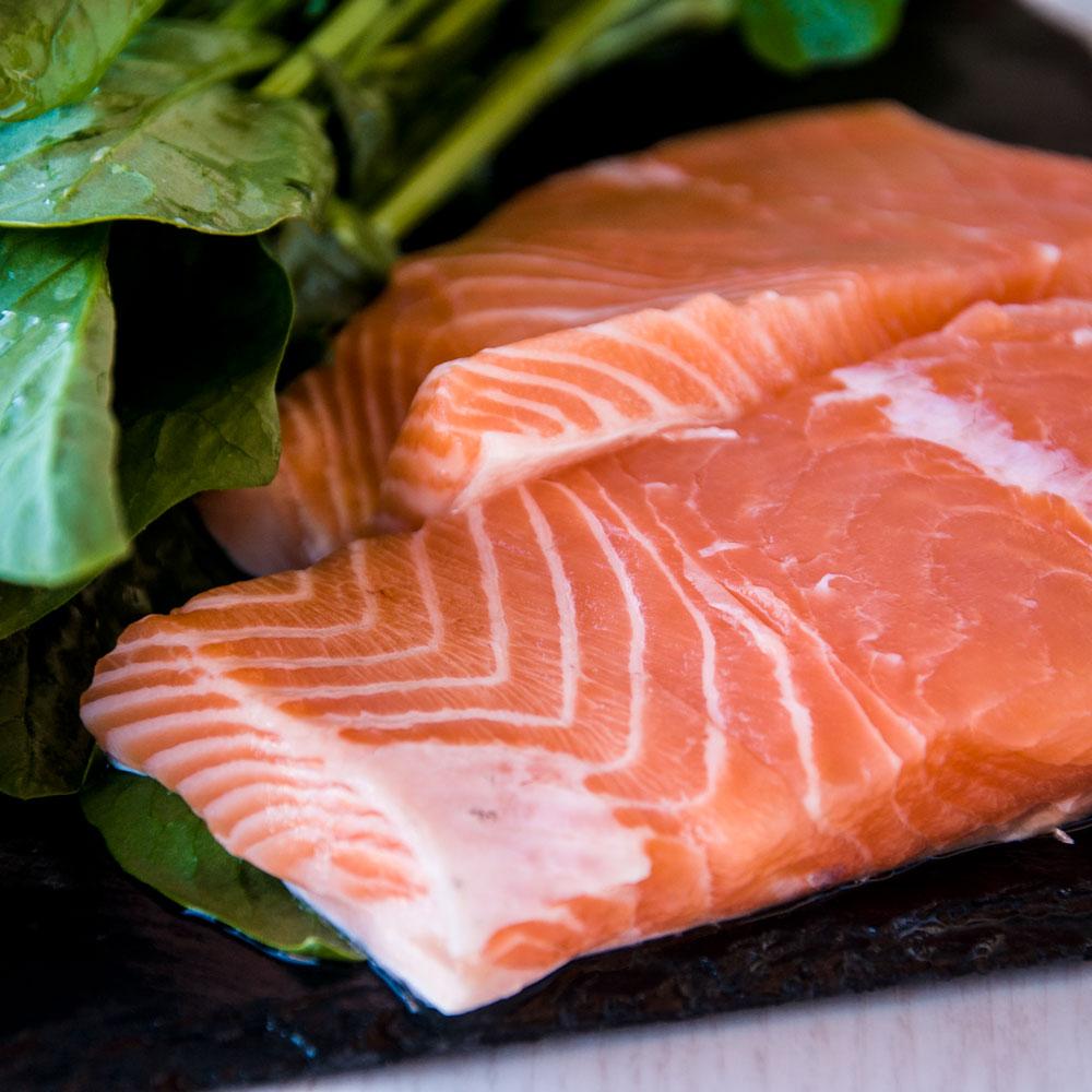 Ingredientes. Pastel de salmón y espinacas