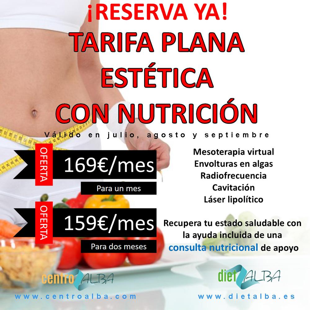 Tarifa plana de corporal con nutrición