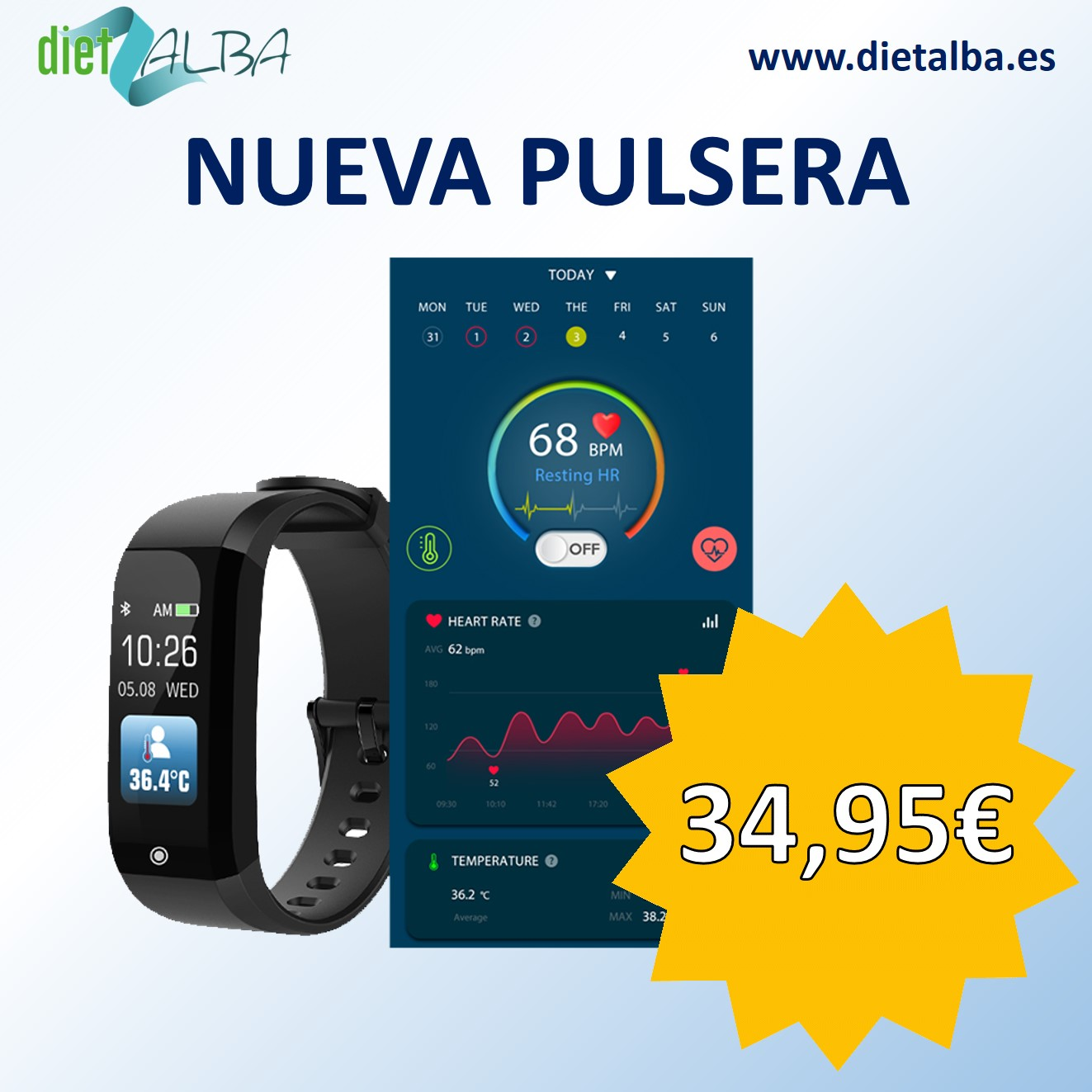Pulsera Actividad DietAlba